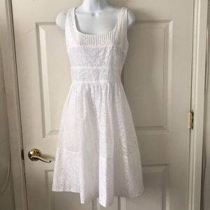 Calvin Klein White Sun Dress